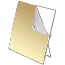 Photoflex Fabric for LitePanel 39 x 72in White/Gold