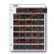 Print File 35mm Size Negative Pages (7 Strips of 5 Frames) Pack of 100
