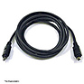 6ft. Firewire IEEE 1394 4Pin to 4Pin Black Cable