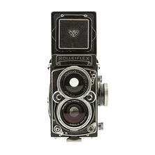 Rolleiflex Medium Format Film Camera With 55MM f4 Lens - Used Image 0