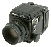 Mamiya RZ67 Medium Format Camera + 110MM F/2.8 Lens & 220 Film Back (Used)