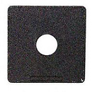 #1 Flat 158mm Square Lens Board f/ VX125 f/180mm-210mm
