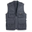 153 World Correspondents Vest - XXLarge Black