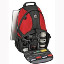 Tamrac 5549 Adventure 9 Photo / Computer Backpack, Red and Black