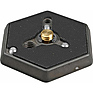 Hexagonal Quick Release Plate (Flat Bottomed) with 3/8