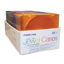Memorex Slim CD Jewel Cases (50 Pack)
