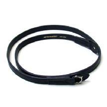 Artisan & Artist ACAM-280 Kobe Shaved-edge Strap (Black)