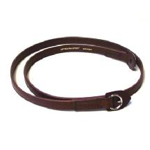 Artisan & Artist ACAM-280 Kobe Shaved-edge Leather Strap (Brown)