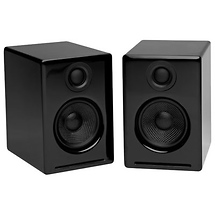 Audioengine A2 Premium Powered Desktop Speakers (Black)