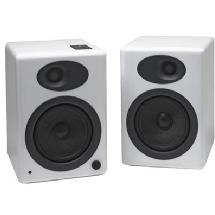 Audioengine A5 Premium Powered Bookshelf Speakers (White)