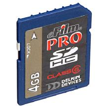 Delkin Devices 4GB PRO Secure Digital (SDHC) Card