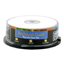 Delkin Devices Archival Gold Inkjet DVD-R 25-Pack Spindle
