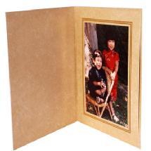 Dot Line Corp. Ivory Marble Photo Folder 4x6
