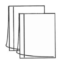 Dot Line Corp. Archival Protector Sleeves 4x5 (100 Pack)