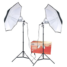 2-Umbrella Tungsten Lighting Kit Image 0