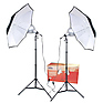 2-Umbrella Tungsten Lighting Kit