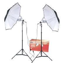 RPS Studio 2-Umbrella Tungsten Lighting Kit