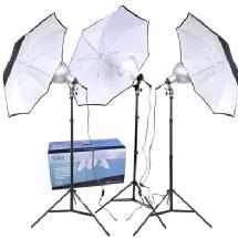 RPS Studio 3-Umbrella Tungsten Lighting Kit