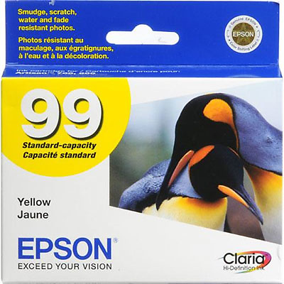 99 Yellow Claria Hi-Definition Ink Cartridge Image 0