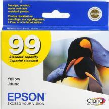 Epson 99 Yellow Claria Hi-Definition Ink Cartridge