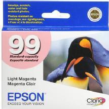 Epson 99 Claria Hi-Definition Light Magenta Ink Cartridge