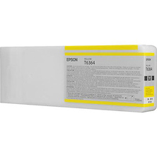 T636400 700ml Ultrachrome HDR Yellow Ink Cartridge Image 0