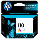 HP 110 Tricolor Ink Cartridge