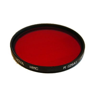 58mm Red 25A HMC Filter Image 0