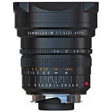 21mm f/1.4 Summilux-M Aspherical Manual Focus Lens (Black) Image 0
