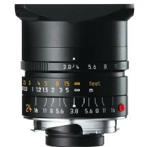 Leica 24mm f/3.8 Elmar-M Aspherical Manual Focus Lens (Black)