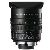 Leica 24mm f/1.4 Summilux-M Aspherical Manual Focus Lens (Black)