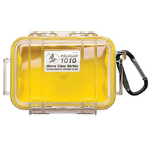 Pelican 1010 Micro Case (Clear Yellow)