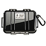 1020 Micro Hard Case (Clear Black)