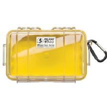 Pelican 1040 Micro Hard Case (Clear Yellow)