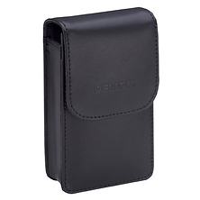 PTX-211-LVM Leather Case (Black) for Pentax Optio M30 Camera Image 0