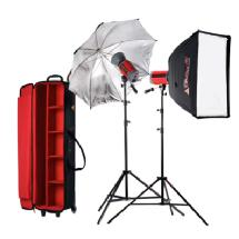 Photoflex Samy's Exclusive Starflash 300 2-Head Portrait Kit, 600ws