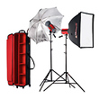 Samy's Exclusive Starflash 300 2-Head Portrait Kit, 600ws