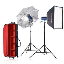 Photoflex Samy's Exclusive Starflash 650 2-Head Portrait Kit, 1300ws - Open Box*
