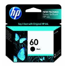 Hewlett Packard HP 60 Black Ink Cartridge