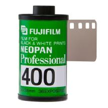 Fujifilm Neopan 400 135-36 Professional Black & White Film - Single Roll