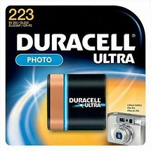 Duracell DL223ABPK Ultra Lithium Battery