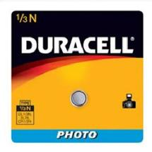 Duracell 1/3NB Lithium Button Battery