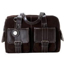 Jill-e Designs Medium Leather Camera Bag (Chocolate Brown)