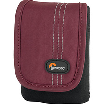 Lowepro Dublin 10 Camera Pouch (Bordeaux Red)