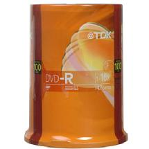 TDK DVD-R Recordable Disc (Spindle Pack of 100)