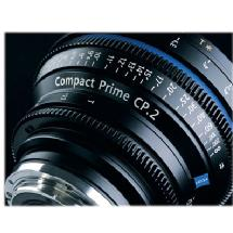 Zeiss 50mm/T2.1 Compact Prime CP.2 Cine Lens (EF Mount)