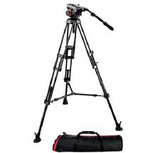 Manfrotto 504HD Fluid Video Head with 546B 2-Stage Aluminum Tripod Kit