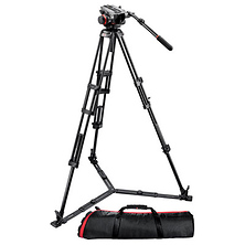 504HD Head with 546GB 2-Stage Aluminum Tripod Kit Image 0