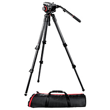 504HD Head with 535 3-Stage Carbon Fiber Tripod Kit Image 0
