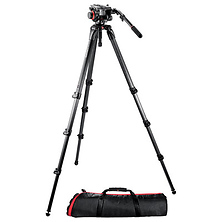 504HD Head with 536 3-Stage Carbon Fiber Tripod Kit Image 0